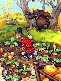 Мужик и медведь -2