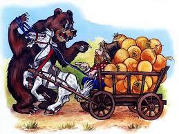 Мужик и медведь -02