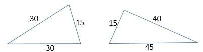 Периметр треугольников