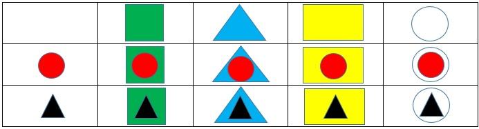 Таблица фигур