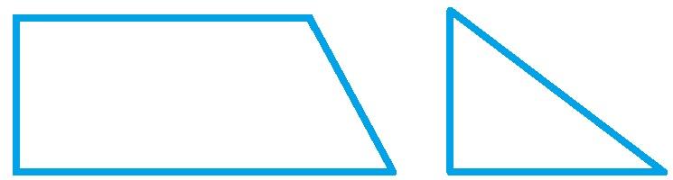 Четырёхугольник и треугольник