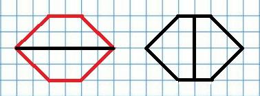 Два шестиугольника