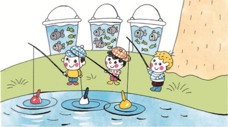 Рыбалка Коли, Димы и Алёши