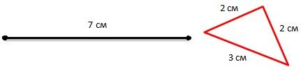Задача про треугольник и отрезок