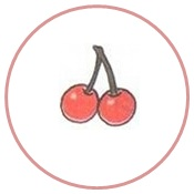 вишни в круге