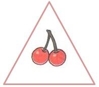 вишни в треугольнике