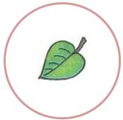 лист в круге