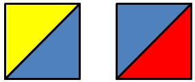 Квадраты из треугольников