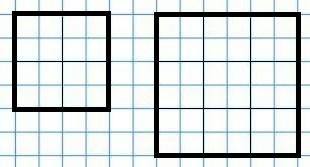 Два квадрата к заданию 4 с. 61