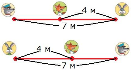 Чертёж 3 к заданию 5 стр. 75 учебник математика 3 класс 1 часть Моро