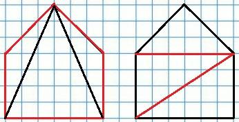 Рисунок к заданию 9 стр. 5 рабочая тетрадь часть 2 по математике 2 класс