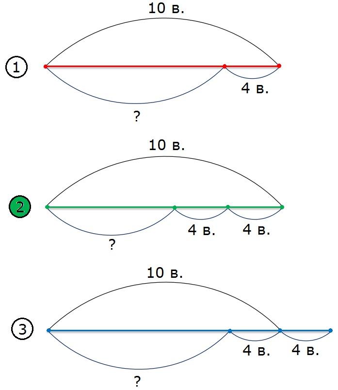Рисунок к заданию 45 стр. 17 рабочая тетрадь часть 2 по математике 2 класс Моро