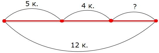 Рисунок к заданию 107 стр. 41 рабочая тетрадь часть 2 по математике 2 класс Моро